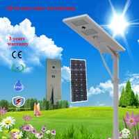 60w 3 years warranty all in one solar led street light , solar street lamp with top quality and competitive prices