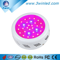 Fast Delivery 3Watt Epistar Grow LED Light UFO R/B/O/W/UV/IR Full Spectrum with 2 Year Warranty