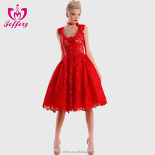 New Style European Fashion Designer Lace Dress Patterns