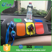 Wholesale PU dashboard sticky adhesive non slip mat