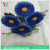 wedding bouquet wholesale artificial flower nylon flower making material purple daisy flower