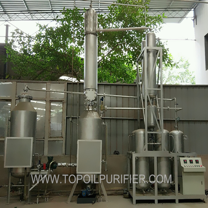 Pyrolysis Oil Distillation Plant/Waste Slop Oil Distillation/Used Engine Oil Recycling Machine