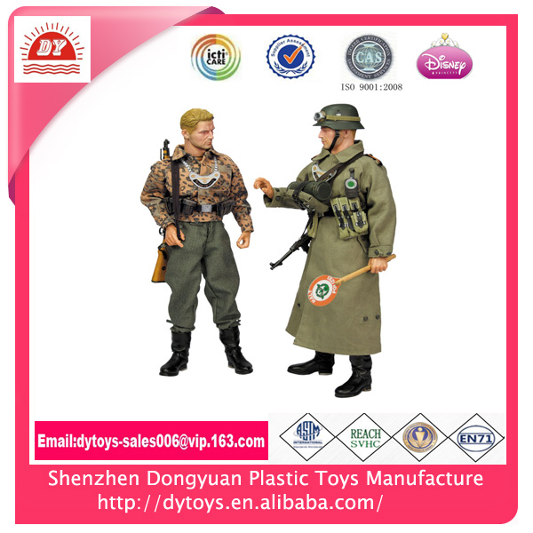 Factory wholesale 3d custom made plastic soldier,painting plastic soldiers