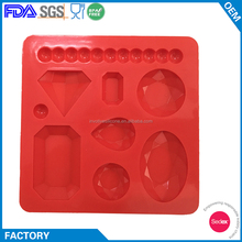 Diamond Shape Silicone Mold for Polymer Clay,Crafting,Fondant Cake Decoration