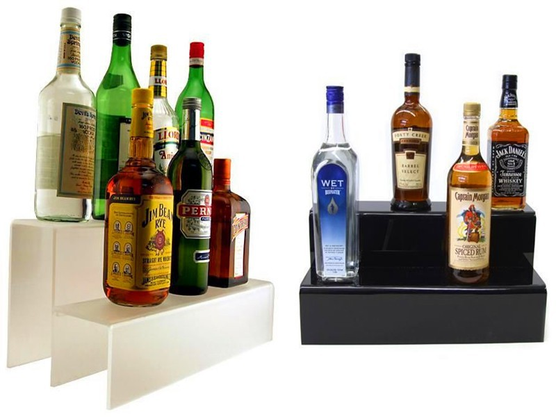 High quality wholesale acrylic liquor storage