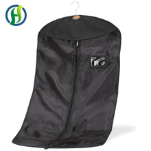 2017 BSCI Factory reusable foldable non-woven suit cover/garment bag made in China