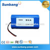 Factory direct sale 2400mah 7.4v small rechargeable battery