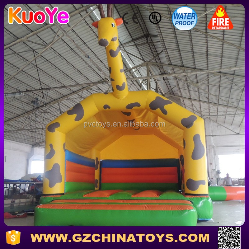 giraffe toddlers inflatable kids air jump bouncer castle
