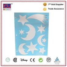 Beautiful paper-cut home decoration sticker hollowed-out vinyl wall sticker