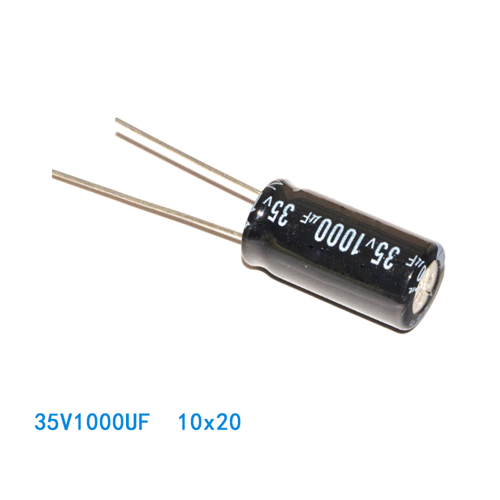 Low Price 35v 1000uf electrolytic capacitor for wholesales