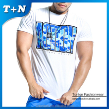 Wholesale Custom Design Short Sleeve Fitness Sport T shirts for Man