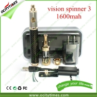 Great price e cigarette vision spinner 2 starter kit beautiful gift box carbon spiner 3 hot seller vision spinner 3 kit