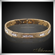Fashion Jewelry Made in China Wholesale Gold Chain Copper Women Charm Bracelet