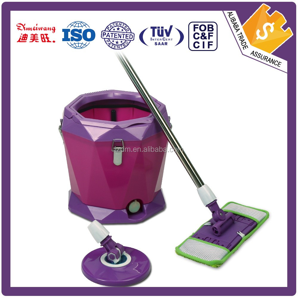 DIMEIWANG Top quality new coming handle 360 degree magic spin mop