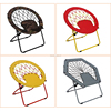 home&garden popular portable durable indoor folding round bungee chair