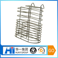 custom metal folding wire display shelving various size kitchen wire dish rack