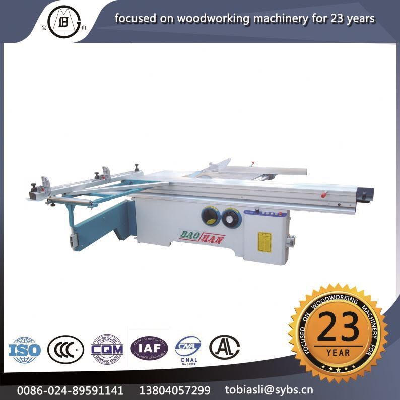 NO MJ-45Y Hot selling density boards multifunction riving knife wood double blade table saw