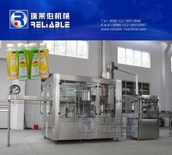 Fruit Juices Production/ Bottle Juice Filling Machine