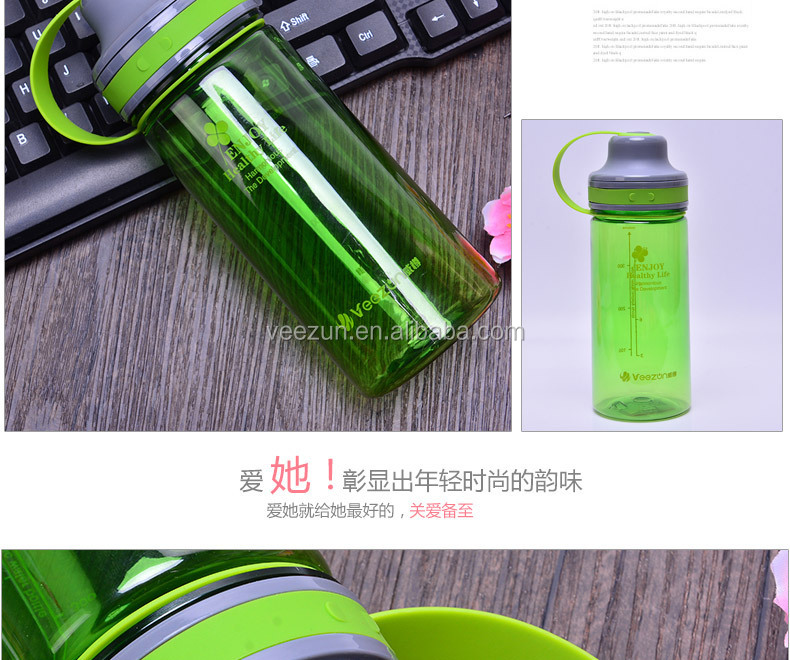 PC material gift plastic water bottle/sports plastic water bottle