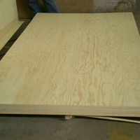 Face/back Pine Wood Commercial Plywood Used For Cabinet Home Used