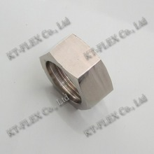 Nickel plated brass NPT thread electrical conduit bushing
