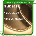 Hot sale efficiency cheap price warm white 96W 3528 led strip light 240 leds per meter
