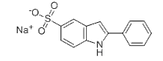 Sodium 2-phenylindole-5-sulfonate /CAS: 119205-39-9