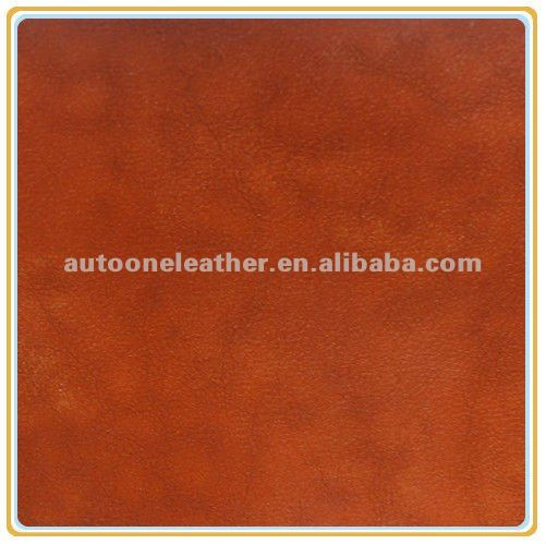 2015 high quality handing soft pu crazy horse leather for shoes