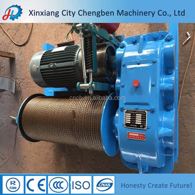 JM Series Model Double Cable Drum Winch