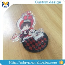 Made in China personalized acrylic anime keychain with base