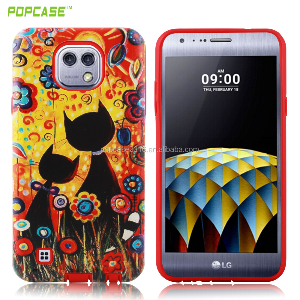 universal PC+TPU pokemon multiple cell phone case for LG x cam