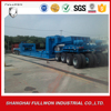 POWERCHINA Brand Helter skelter style semi-trailer lowbed trailer