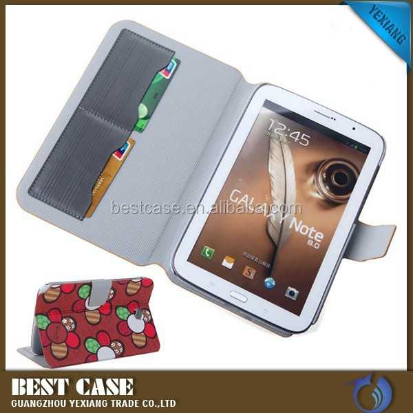 New product cheap price leather cover case for samsung galaxy note 8.0 n5100 mobile phone case