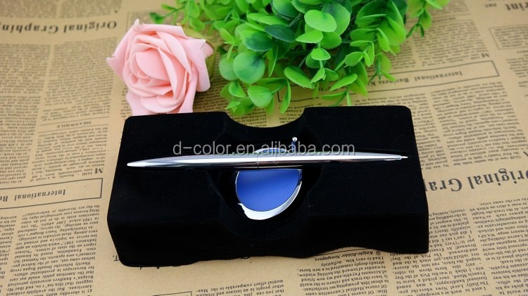 Creative Magnetic Table pen print logo Matel Table pen for promotional
