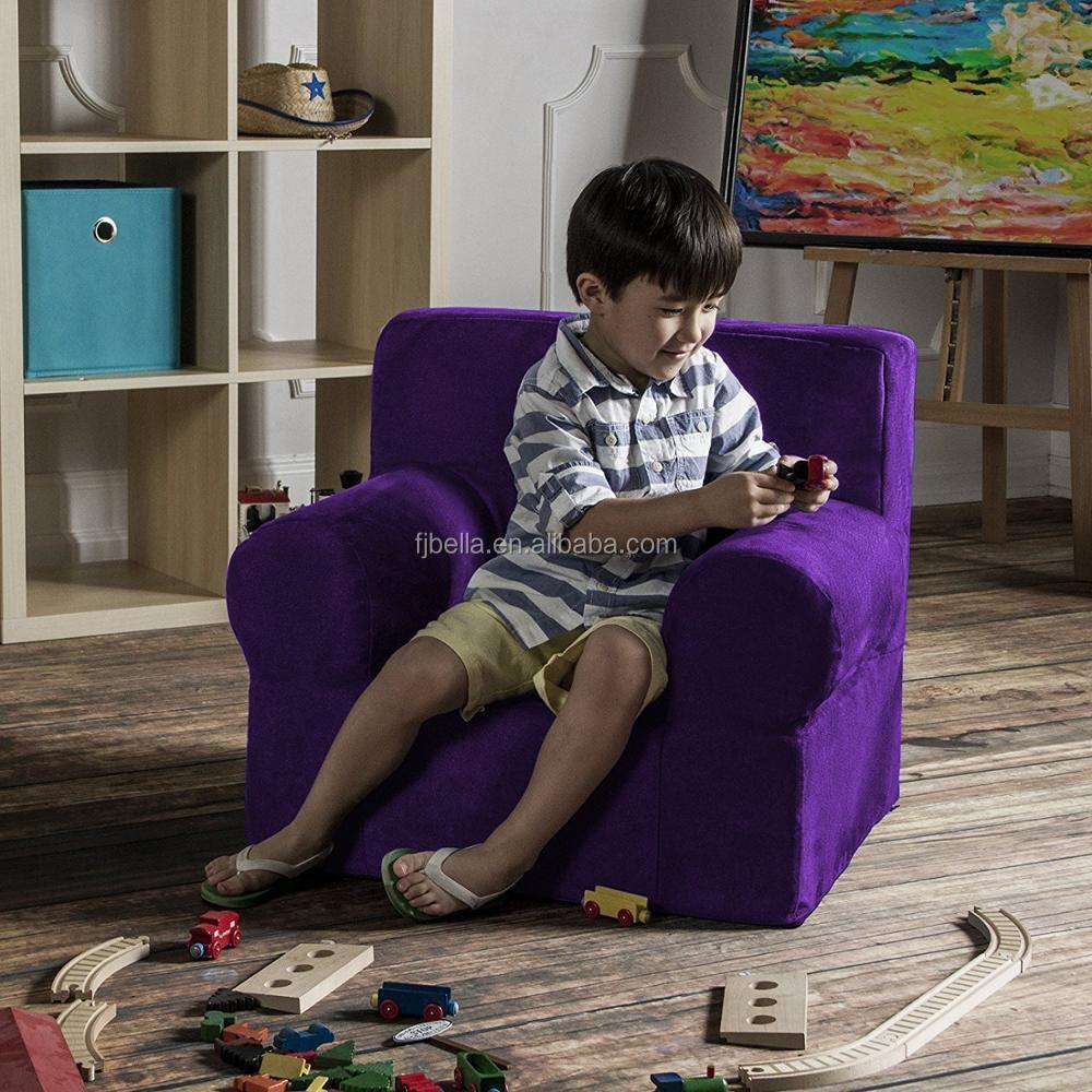 Little Princess Foam Folding Sofa Bed kid Sofa With Handle