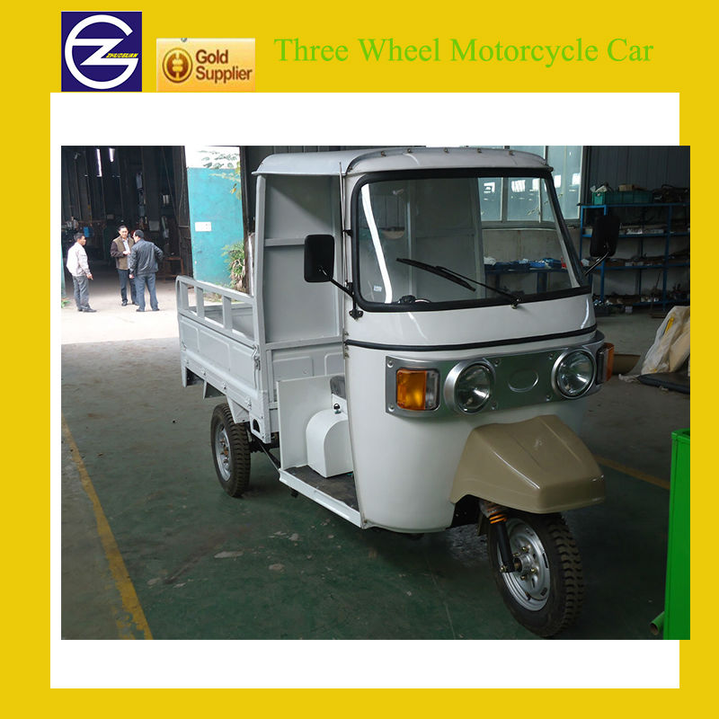 Chinese Cargo Three Wheel Motorcycle Car