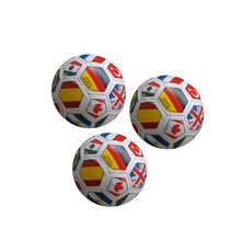 Leather PU Cotton stuffed soccer ball,stress football baby toy