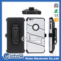 Phone Accessory Robot 3in1 holster belt clip cover case with kickstand for LG