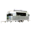 big wheels Catering Food Trailer/Best Designed Street Food Cart/ mobile food kitchen van