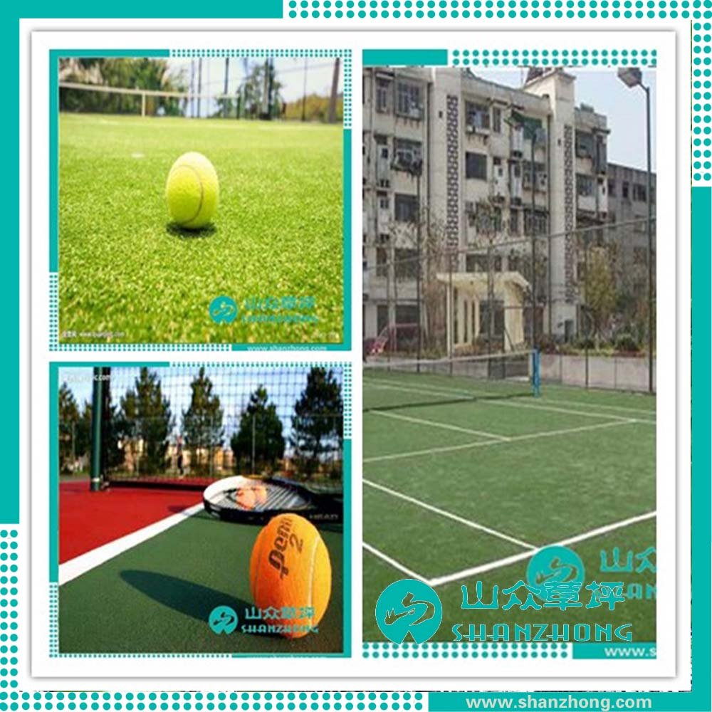 Tennis Court Artificial Turf Floor For Basketball Court Flooring