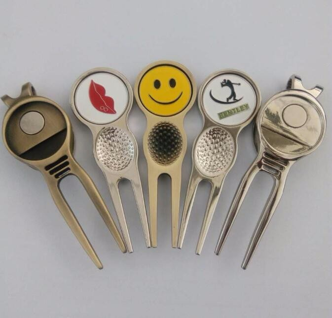 Customized Antique Imitated Golf Divot Tool Golf Cheap Golf Divot Tools