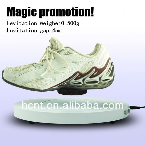 New Technology ! Magnetic Levitating Promotion Display stand, basketball promotional items
