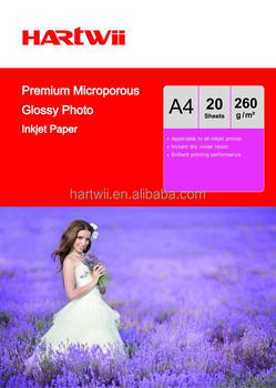 240g premium microporous glossy photo paper for inkjet printer