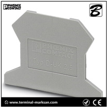 D-UK 2,5 (3001022) terminal End cover for Phoenix contact