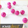 Best selling metal ball string christmas decoration lights