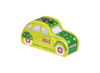 car shape tin box with printing and embossing