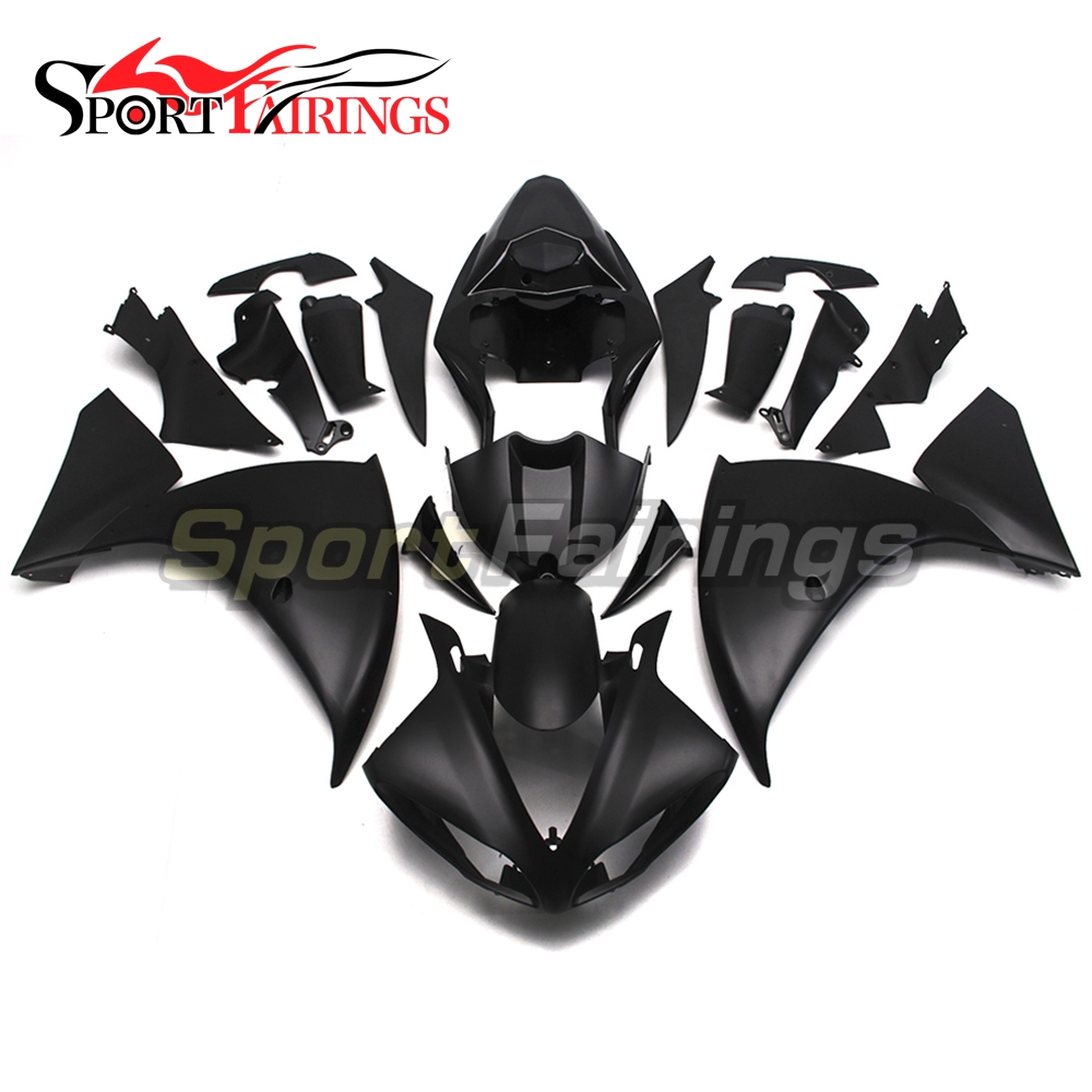 ABS Injection Fairings For Yamaha YZF 1000 <strong>R1</strong> 09 10 11 YZF-<strong>R1</strong> 2009 2010 <strong>2011</strong> Plastic Complete Motorcycle Flat Black