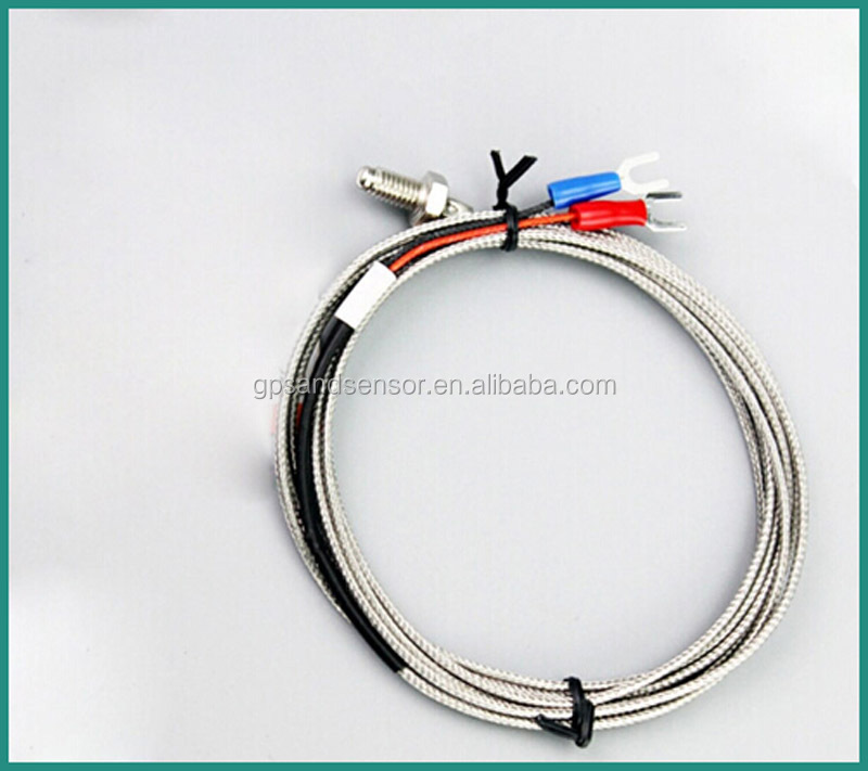 Screw-type Thermocouple E type/Ktype/PT100 For Measuring Liquid, Vapor and Gases and Solid Surface Temperature