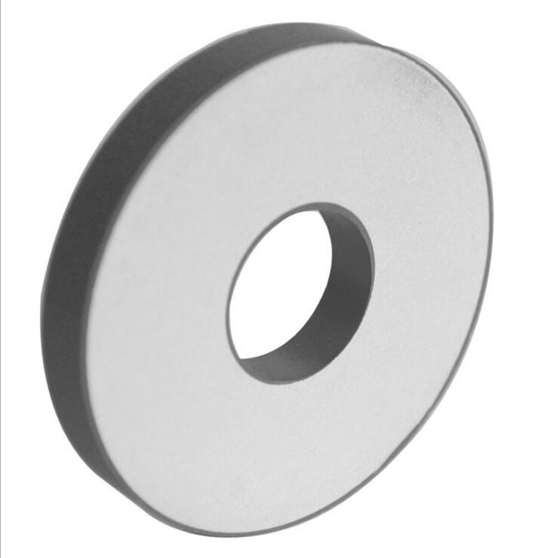 PZT4 Piezoelectric Material Element Ring for Ultrasonic Application