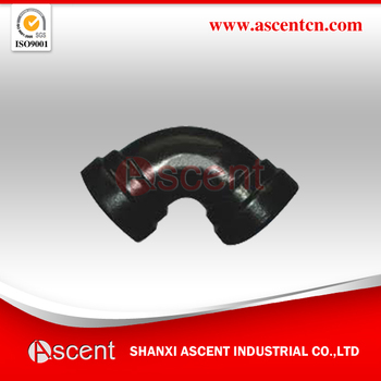 Double Socket Bend for PVC Pipe-Pipe fittings
